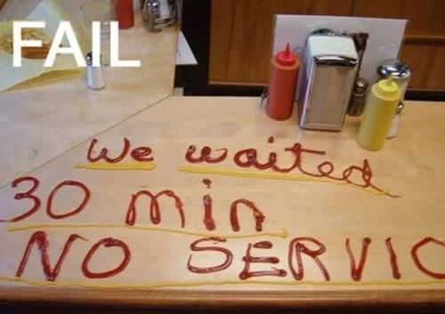 Fast food fail