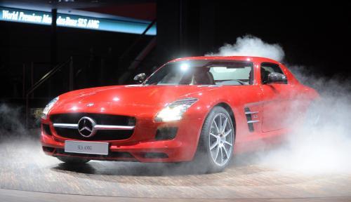 The Mercedes SLS AMG