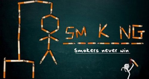 Smokers hangman