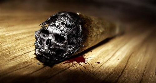 Cool ash skull