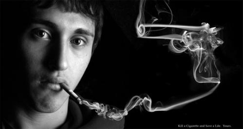 Smoke gun