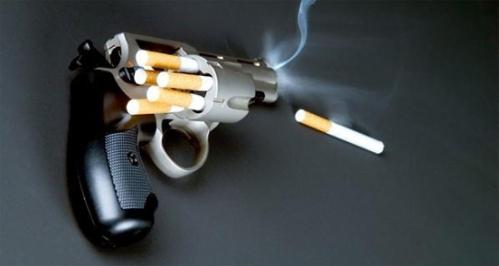 Smoking revolver