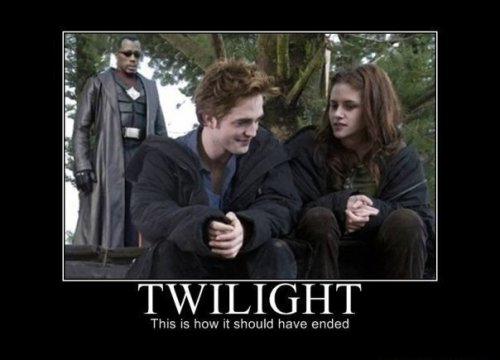 Twilight - How it should have ended