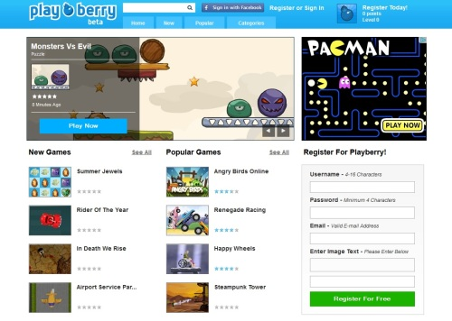 Playberry - Free Online Games